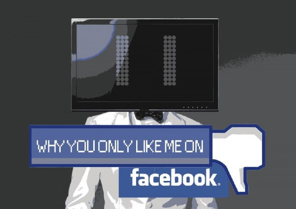 why you no like me on facebook